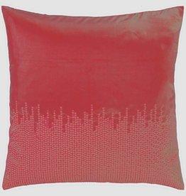 Sierkussen Adana 45x45 cm rood