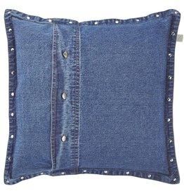Sierkussen Adoss 45x45 cm blauw