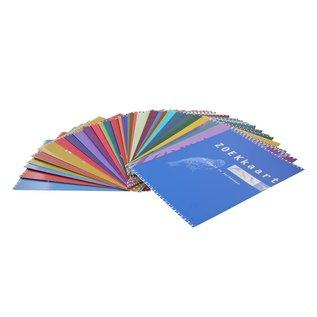 Set zoekkaarten geplastificeerd