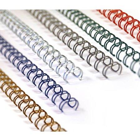 Huismerk wire-o draadbindrug 3:1 metaal 6,4mm 34rings A4