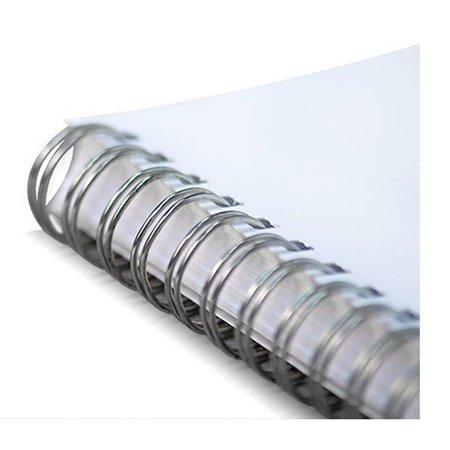 GBC wire-o draadbindrug 3:1 metaal 6,0mm 34rings A4