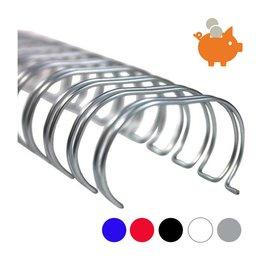 Huismerk 6,4mm wire-o draadbindrug 3:1