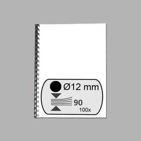 GBC Bindrug 12mm 21 rings A4 100 stuks