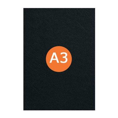Huismerk Voorblad A3 Zwart 300 micron