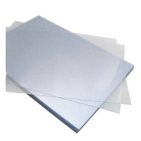 Huismerk Voorblad A4 150micron PVC Transparant