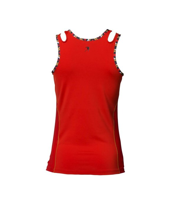 Dafina tank top red
