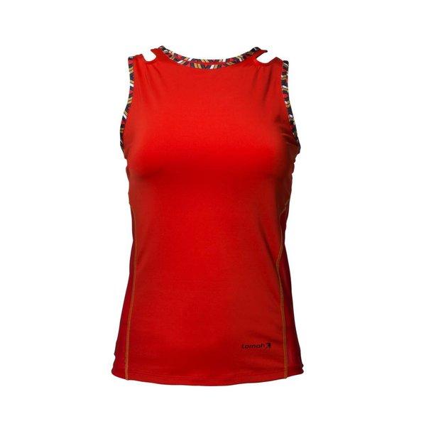 Dafina sport top / singlet rood