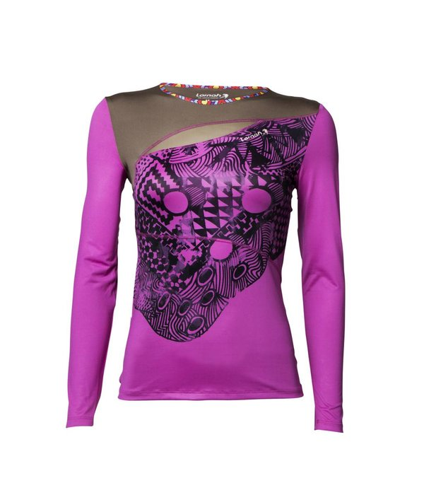 Habiba long sleeve shirt pink