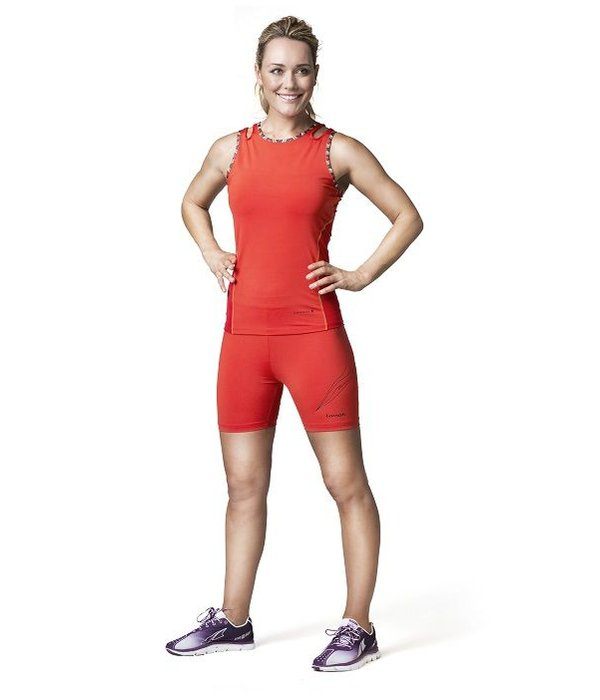 Faiza sport short rood