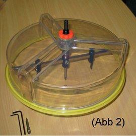 Universal-Lochbohrer-Set im Koffer, Kreisschneiderfür GK-Platten