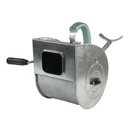 Putzwerfer mit Armstütze, mit Stahlfederwalze