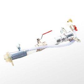 Spritzgerät mit Hahn 200 mm, Alu-Drehkupplung (gerade, 30°, 45°)