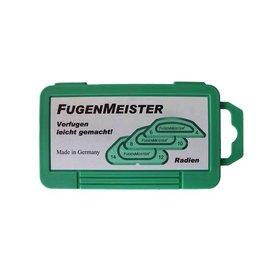 Fugenmeister, Radien & Winkel, Set mit 3 Schablonen, versch. Ausführungen