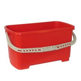 Waschset - Eimer 24 l, rot