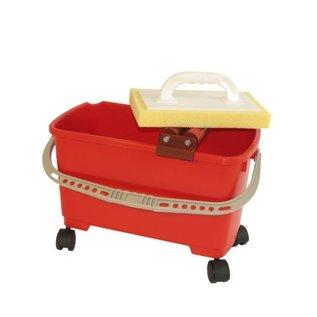 Fliesen-Waschset: Maxi S, 24 L, rot