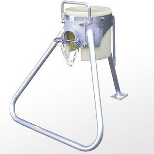 Auslaufbock, Kufe, Aluminium/Stahl