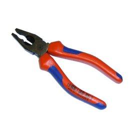 Knipex Kombizange KNIPEX, Griffe mit starkwandigen Kunststoffhüllen