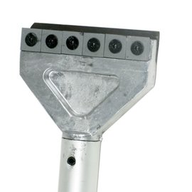 Universal-Schaber, Hartmetall-Wendeplatten