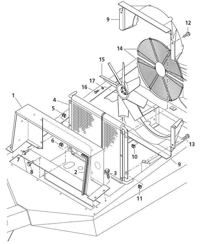 Kühler & Ventilator