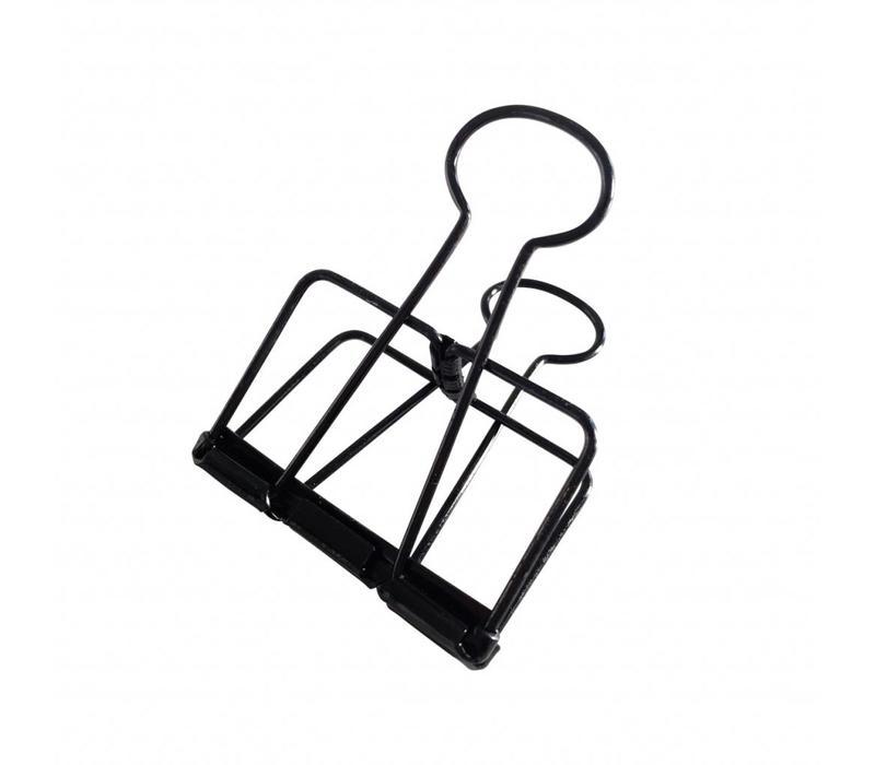 Binder clips Black XL