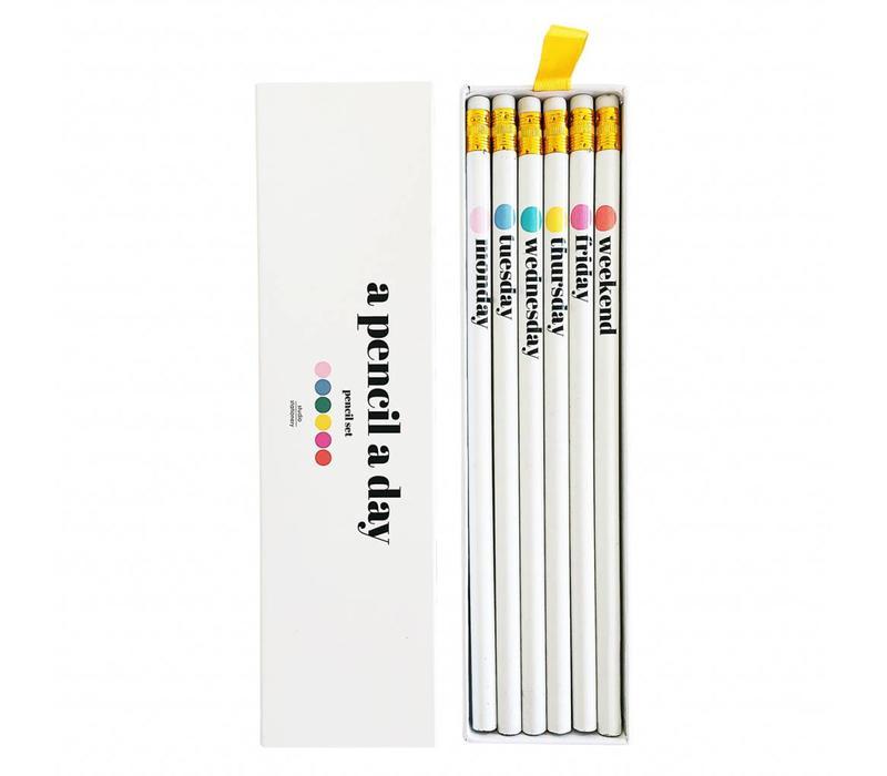 A pencil a day Pencil set
