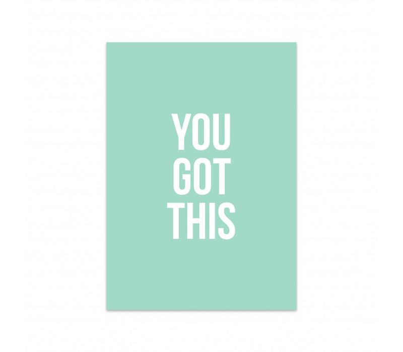 Card You got this