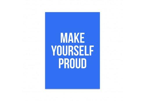 Studio Stationery Kaart Make yourself proud