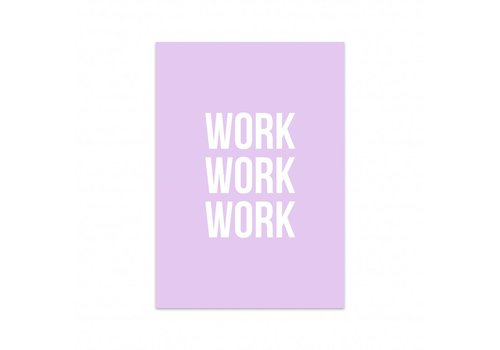 Studio Stationery Card Work work work