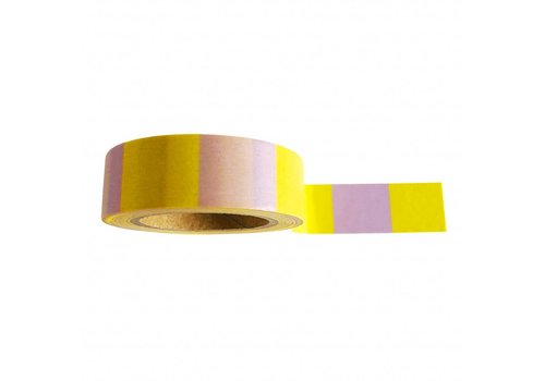 Studio Stationery Washi tape Yellow Lilac
