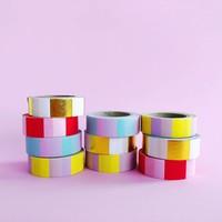 Washi tape Mint pink