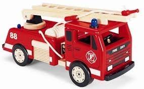 Brandweerauto hout