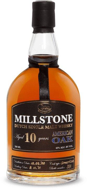 Zuidam Millstone Dutch Single Malt Whisky 10yo American Oak