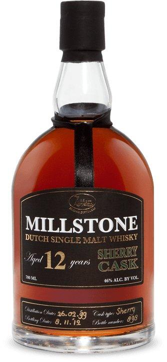 Zuidam Millstone Dutch Single Malt Whisky 12yo Sherry Cask