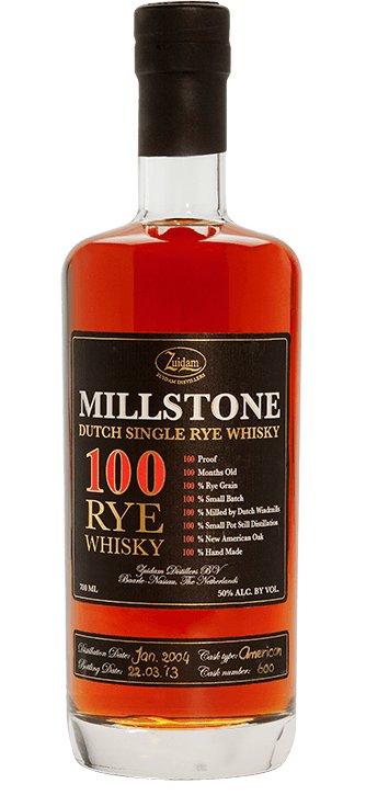 Zuidam Zuidam Millstone 100 Rye Whisky