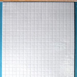 Foam Pads 1,5 mm/5mm blocke Weiss 5mm, 10x15 cm