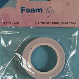 Foam Tape 0,5 mm 12mmx2m