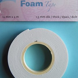 Foam Tape 1,5 mm 12mmx2m