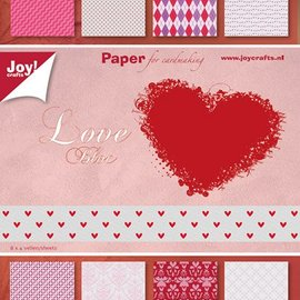 Papierblock - Valentine