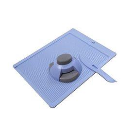 Envelope-Hersteller Faltplatte + Eckenstanz