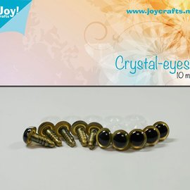 Crystal eyes - Beige (10mm)