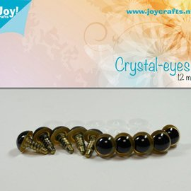 Crystal eyes - Beige (12mm)