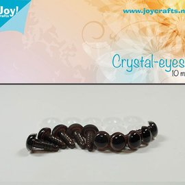 Crystal eyes - Brown (10mm)