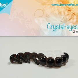 Crystal eyes - Brown (12mm)