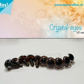 Crystal eyes - Brown (14mm)