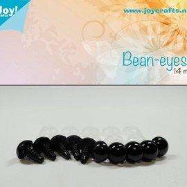 Bean eyes - Schwarz (14mm)