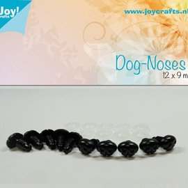 Dog Nose Black (12x9mm)