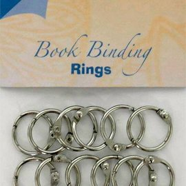 Bookbinders rings 20mm, 12pc
