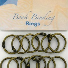 Bookbinders rings 25mm, 12pc