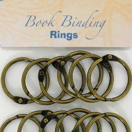 Bookbinders-rings 30mm, 12pc