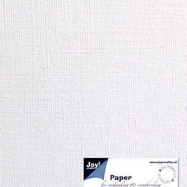 Leinenkarton A6 - weiß